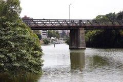 De Rivier van Parramatta Royalty-vrije Stock Foto
