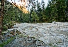 De rivier van Parvati royalty-vrije stock afbeeldingen