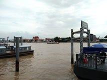 De rivier van Phraya van Chao royalty-vrije stock foto's