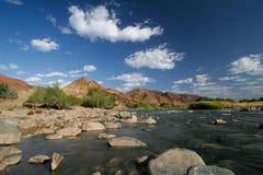 De rivier van Richtersveld Royalty-vrije Stock Afbeelding