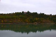 De rivier van Saskatchewan Royalty-vrije Stock Foto's