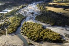 De rivier van Shotover, Queenstown, Nieuw Zeeland Royalty-vrije Stock Fotografie