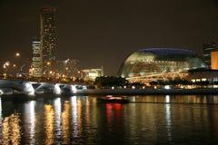 De Rivier van Singapore Stock Foto