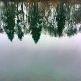 De rivier van Spokane Stock Foto's