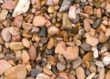 De rivier van stenen Stock Foto's