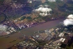 De rivier van Theems Royalty-vrije Stock Afbeeldingen