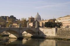 De Rivier van Tiber Royalty-vrije Stock Fotografie