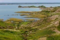De rivier van Tigris in Irak Stock Foto