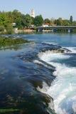 De rivier van Una Stock Foto's