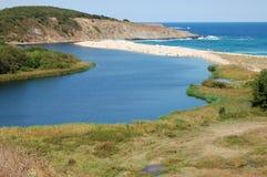 De rivier van Veleka Royalty-vrije Stock Foto