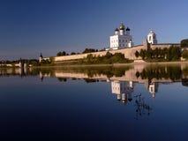 De Rivier van Velikaya Royalty-vrije Stock Fotografie
