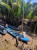 De rivier van Vietnam mekong royalty-vrije stock fotografie
