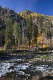 De Rivier van Wenatchee van de Kleuren van de daling Royalty-vrije Stock Afbeeldingen