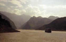 De rivier van Yangzi Stock Foto's