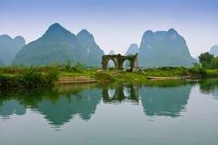 De Rivier van Yulong Royalty-vrije Stock Afbeeldingen