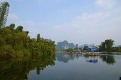 De Rivier van Yulong in Yangshuo Royalty-vrije Stock Afbeelding