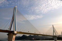 De rivierbrug 16 van Yangtze van Yiling Stock Afbeelding