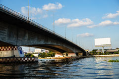 De rivierbrug Royalty-vrije Stock Foto