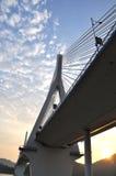De rivierbrug 6 van Yangtze van Yiling Stock Afbeelding