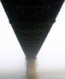 De rivierbrug van Yangtze Stock Foto