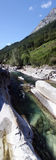 De rivieren van Zwitserland Stock Fotografie