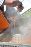 De rivierkreeften koken Stock Afbeeldingen