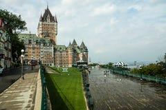 De Rivieroeverpromenade van Quebec Stock Fotografie