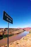De Rivierteken van Colorado Stock Afbeeldingen