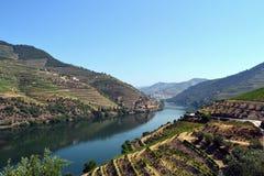 De riviervallei van Douro royalty-vrije stock afbeeldingen