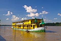 De riviervloed van Vistula stock fotografie