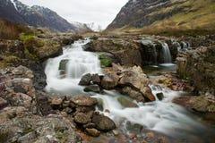 De rivierwatervallen van Coe Stock Foto