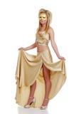 or de robe ses jeunes de levage de femme Photographie stock
