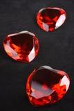 De Robijnen van het hart royalty-vrije stock fotografie