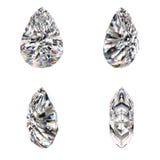 De robijnrode verschillende mening van de besnoeiingsdiamant Royalty-vrije Stock Foto