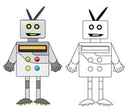 De robot Royalty-vrije Stock Afbeelding
