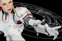 De robot Royalty-vrije Stock Fotografie