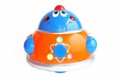 De robot een stuk speelgoed Stock Afbeeldingen