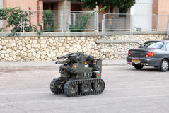 De Robot van de militaire of politieBomopruiming Royalty-vrije Stock Foto