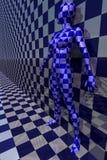 De robot van de vrouw royalty-vrije illustratie