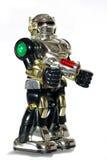 De robot van het stuk speelgoed met een kanon #2 stock afbeeldingen