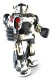 De robot van het stuk speelgoed met kanon fisheye pic Royalty-vrije Stock Afbeeldingen