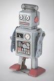 De Robot van het tin Stock Foto's