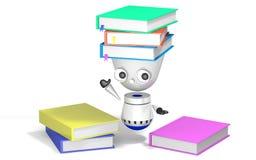 De robotstudie geeft terug Stock Fotografie