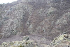 ` de roches bleues de ` de parc naturel - Bulgarie, Sliven Images libres de droits