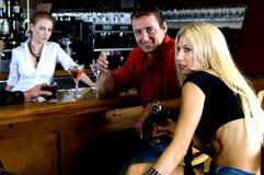 De roddel van de bar Royalty-vrije Stock Fotografie