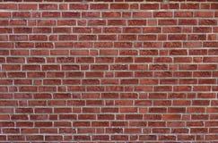 De rode achtergrond van de bakstenen muurtextuur grunge kan aan binnenlands ontwerp gebruiken Stock Afbeeldingen