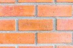 De rode achtergrond van de bakstenen muurtextuur Royalty-vrije Stock Fotografie