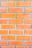 De rode achtergrond van de bakstenen muurtextuur Royalty-vrije Stock Foto