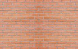 De rode achtergrond van de bakstenen muurtextuur Royalty-vrije Stock Foto's