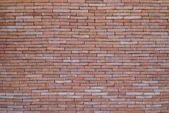 De rode achtergrond van de bakstenen muurtextuur grunge met vignetted hoeken, kan aan binnenlands ontwerp gebruiken Stock Fotografie